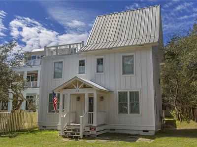Photo for Big Beacon - Grayton Beach, Updated Interiors, Main House + Guest House!