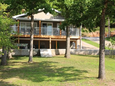 Photo for 3 BR/2BA LAKE HOME W/ PRIVATE DOCK AND MARTINI DECK with nearby resort amenities