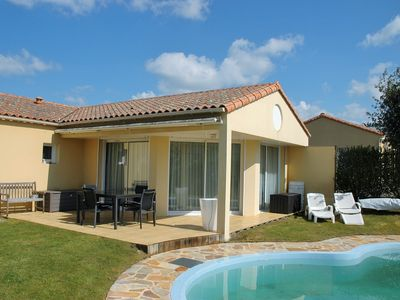 Photo for House 6 persons private heated pool