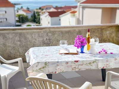Photo for Beautiful apartment near the sea with a terrace with a view