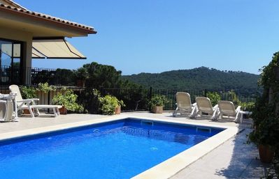 Photo for Begur-Fabulous large villa with private pool and panoramic views