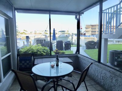Photo for Comfortable, Waterfront 1 BR/1Bath 1 Block from Beach