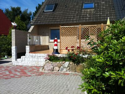 Photo for sunny and close to the beach 75 square meter apartment with a terrace in Cuxhaven-Döse