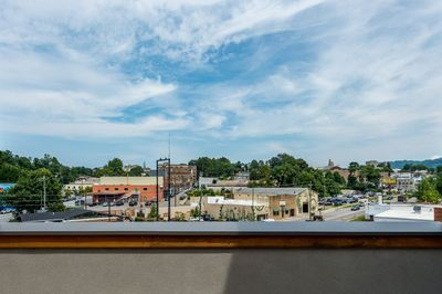 View - Take in the stunning panorama on the private rooftop deck.