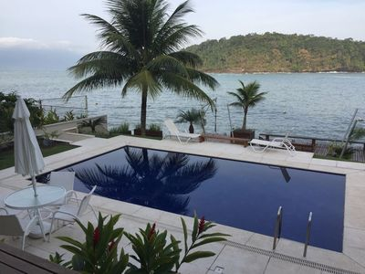 Photo for Luxurious house with 6 suites, beach, natural pool, speedboat ...