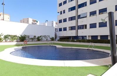 Photo for Modern three bedroom apartment with Air co & Wifi, Close to beach, restaurants and Estepona Port