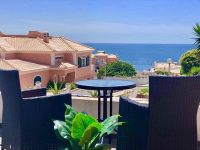 Photo for Stunning 2 person loft with sea view - 200 meters from the beach