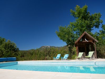 Photo for Villa with pool terrace and garden prox. beaches and Gorges du Verdon