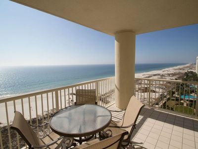 Photo for Beach Club A1202 - Direct Gulf View - Right on the Beach - WIFI - Sleeps 6