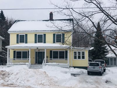 Photo for Large home walking distance to town and trails. 10 minutes to ski resorts.