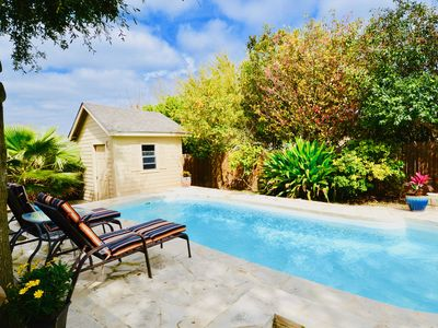 Photo for Top Lackland/SeaWorld Vacation Home w/ PRIVATE POOL/grill. Backyard Retreat!