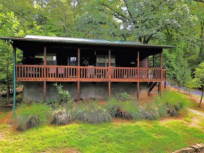 Photo for The Nest Nice 2 bedroom cabin with Mountain Views near Hayesville NC