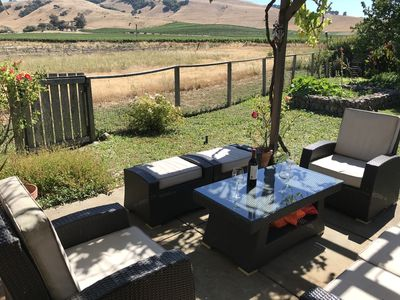 Photo for Sonoma Solstice retreat, stunning valley views in the heart of a vineyard