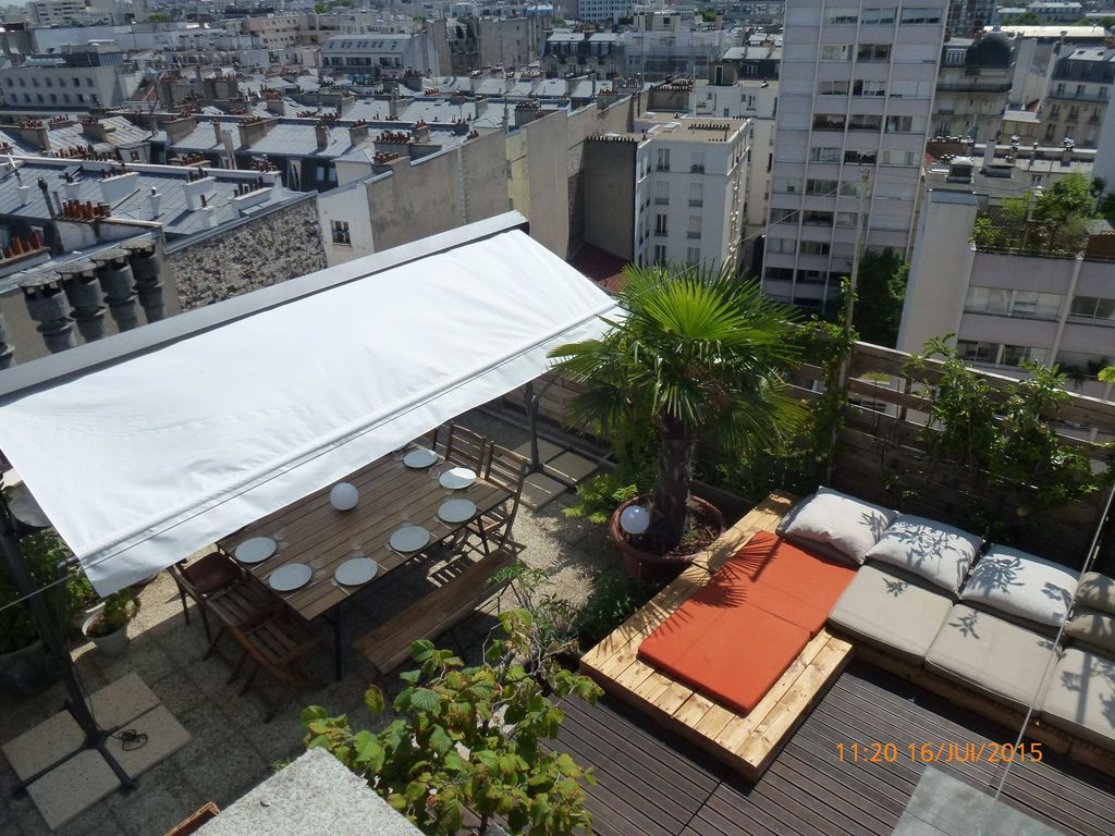 Appartement avec toit terrasse saint vincent de paul for Appartement toit terrasse