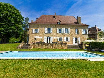 Photo for Luxury Village Manor House - Discover All that the Dordogne and Lot Has to Offer