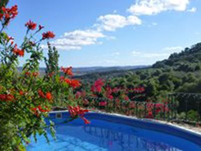 Photo for Delightful two bedroom cottage with pool in Nature reserve