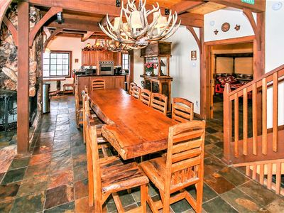Photo for *GOLF/ZOO/SKI CHALET~Premier Amenities~Hot Tub~Pool Table~Guest House~