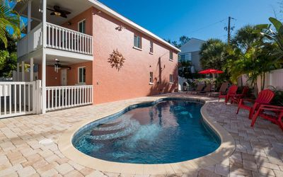 Photo for The Pink Flamingo—Great Location—200 feet to Village—2 Blocks to Siesta Beach!