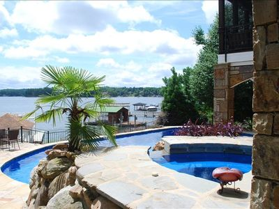Photo for A Bit of Paradise on the Lake w/Pool, Hot Tub & Dock