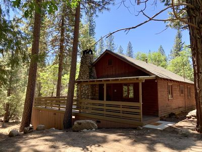 Photo for River front property with WiFi! Along the River is a charming 2 bedroom 1 bath cabin that comfort...