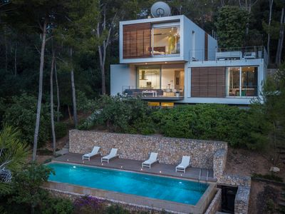 Photo for Villa Gotmar 138 is a luxurious contemporary villa with private pool in Puerto Pollensa
