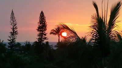 Catch amazing sunsets off our back lanai every evening!