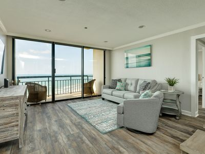 Photo for Oceanview condo w/shared pools, hot tubs, sauna, and two balconies
