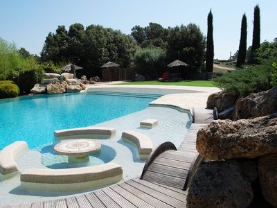 Photo for Villa for rent on beautiful area of Var. Infinity Pool and Mini Golf