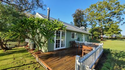 Pet friendly fully enclosed courtyard