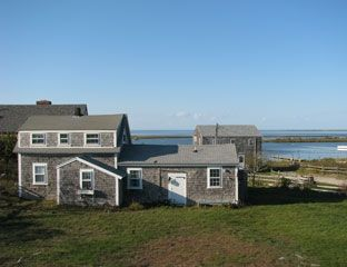 Hither Creek cottage in Madaket with guest studio and spectacular ocean views