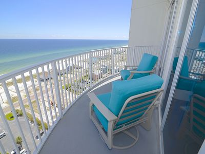 Photo for Water views from every room. private beach access, Beach And Pools Now Open