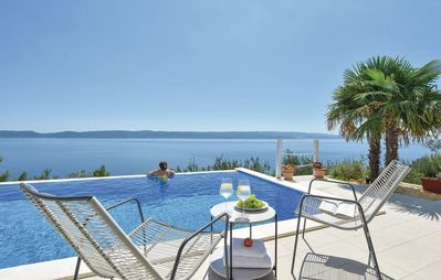 Photo for Villa with Hot Tube, Infinity Pool, great view, perfect for families and couples