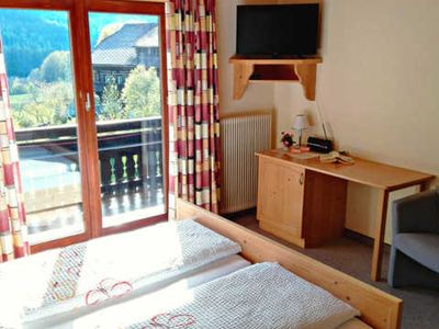 Photo for Shared room with balcony or terrace - Pension & Ferienwohnung Sonnleiten