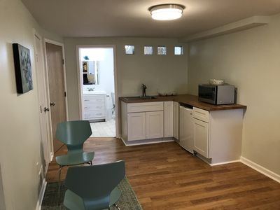 kitchenette as part of living area