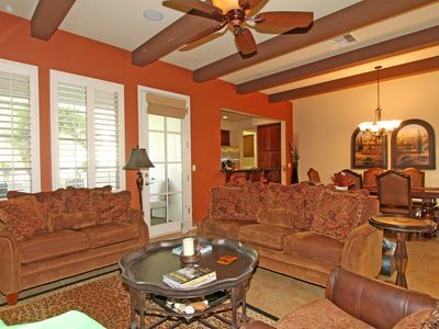Photo for A Secluded Two-Story Legacy Villas Townhome Tucked Up Against The Mountains!