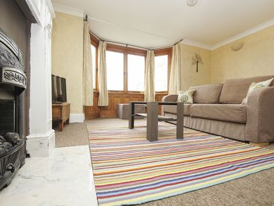 Photo for New Steine Gardens: 1 bedroom, sleeps 4, sea view, centrally located, WiFi
