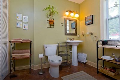 The bathroom my guests all rave about ... it's BIG!