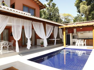Photo for Super luxury new house with 4 suites and pool in the best location of Arraial.