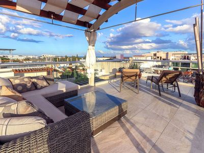Photo for LUXURY Penthouse with own Jacuzzi on the terrace