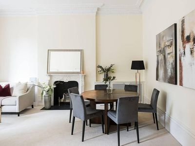 Photo for Grand, Regal 2 Bedroom Apartment, next to Harrods