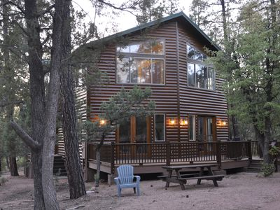 Photo for Mountain Cabin With Cool Temperatures, Great Views, And Modern Furnishings.