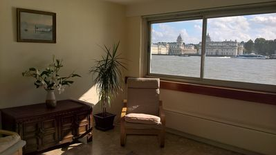 Photo for Amazingly located on the River Thames, Three Bed Apartment, Sleeps 5 (Veeve)