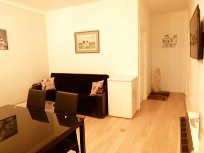Lounge with 1 double sofa beds/TV/Wifi