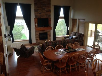 Photo for Branson Canyon home with two master suites, hot tub, Wii, paddle boards