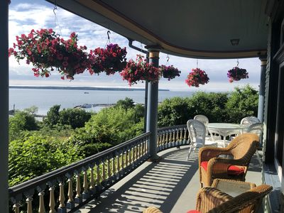 Photo for Harbor Hill House Spacious Victorian home with spectacular Apostle Island views