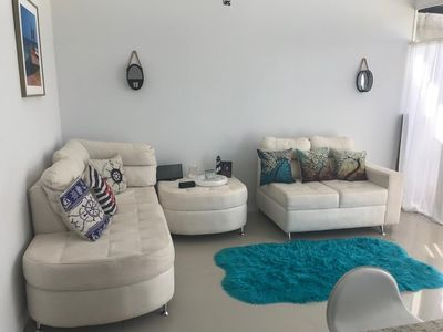 Photo for villa with a private garage ,build out of shipping container,fll two rooms and two bathrooms ,dining kitchen ,plenty outdoor space for barbecue