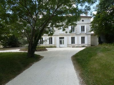 Photo for Six Bed Chateau With 15 Metre Pool Located In The Countryside With Views