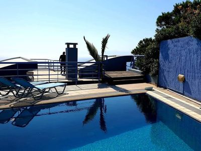 Photo for Villa Afrodite PRIVATE POOL on the roof sea view