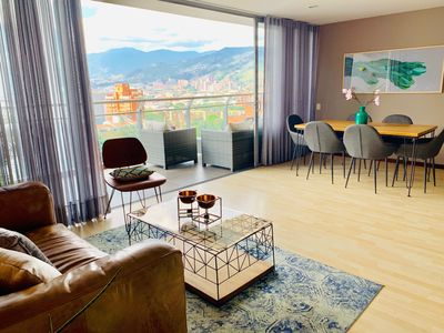 Photo for Bright, Stylish Apartment⇢ 2 BR⇢Huge Balcony ⇢ AC