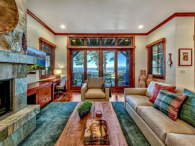Photo for 9 Sierra Shores Stunning Lakefront 3BR/3BA - Amazing Views, Pool, Hot Tub, BBQ